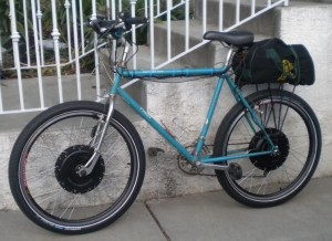 Dual Motor Electric Bicycle