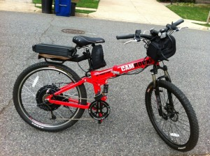 E-Moto Camrock electric mountain bike