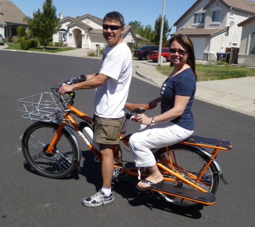 Sf Giants Electric Yuba Cargo Bike Electric Bike