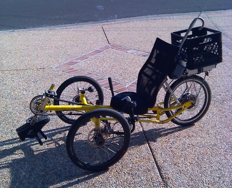 Electric recumbent trike electric bike solutions llc for Recumbent bike with electric motor