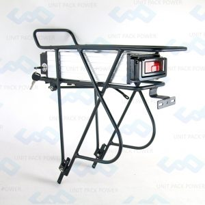Double Level Rack with Battery
