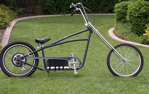 Chopper Electric Bike Coversion Kit