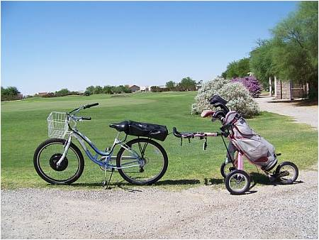 Bikes Yuma Electric Bike Golfing in Yuma
