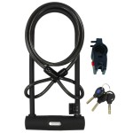 Bike U-lock&Cable