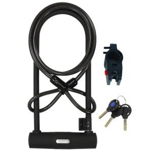 Bike U-lock&Cable