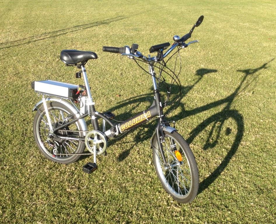 Electric Folding Columba Bicycle Irvine Ca 1 2015