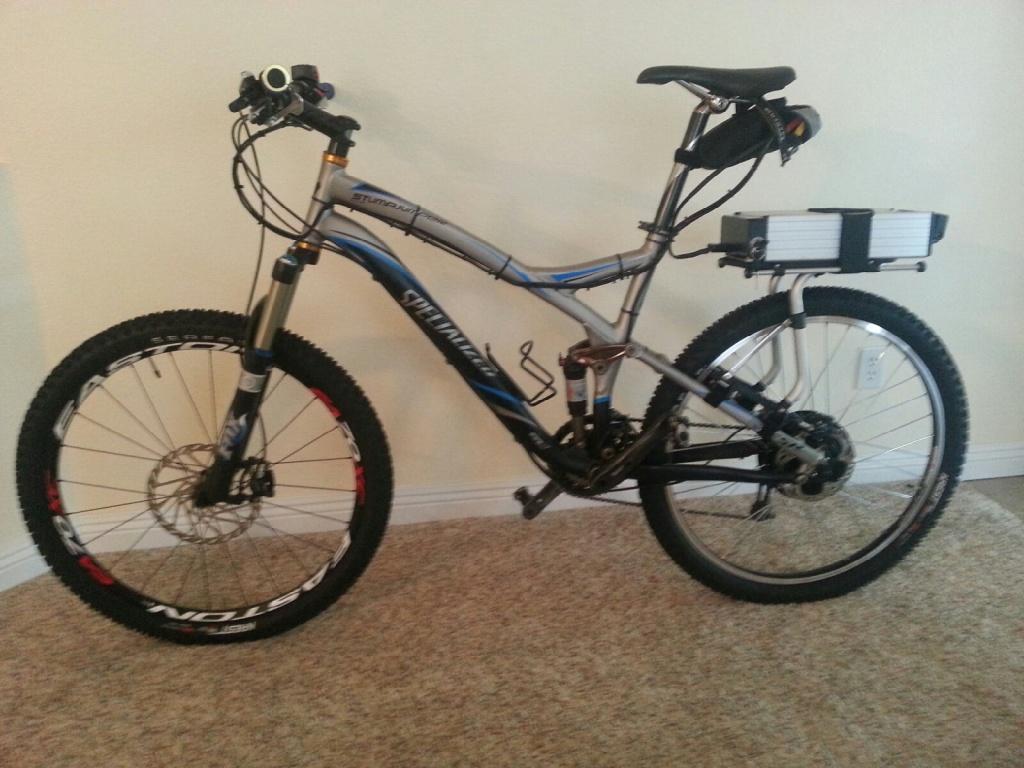 33d3488e9f2 Electric Specialized Stump Jumper Bike - Electric Bike Solutions, LLC