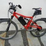 Electric Santa Cruz Full Suspension Bicycle