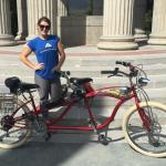 Beach Cruiser Tandem Electric Bicycle