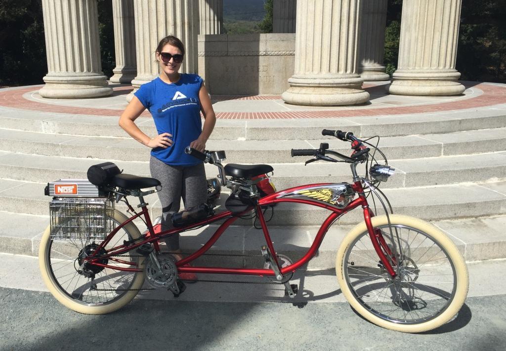 Beach Cruiser Tandem Electric Bicycle