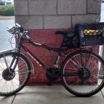 electric dual motor bicycle