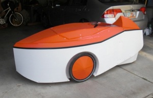 Electric Velomobile - Far West, Utah