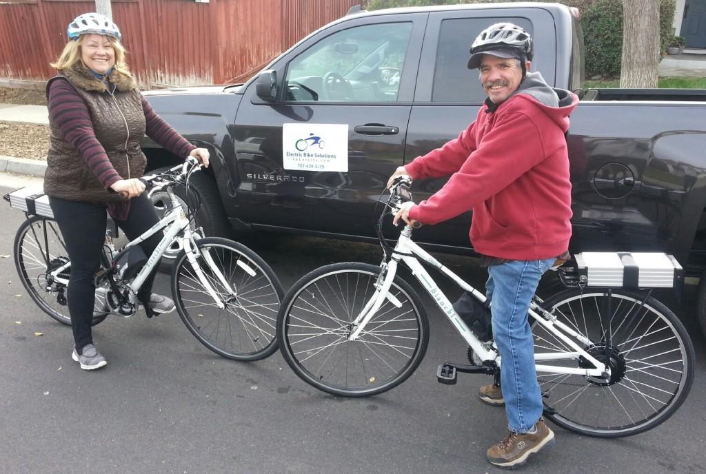Electric Bianchi Cortina Bicycles