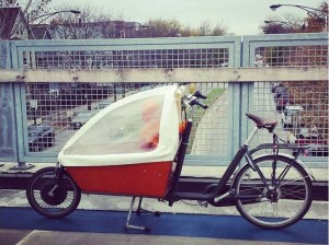 Electric Workcycle Bakfiet Bicycle