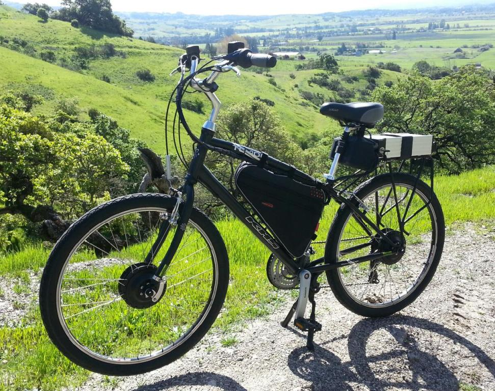 Khs Tc 100 Electric Dual Motor Bicycle Electric Bike