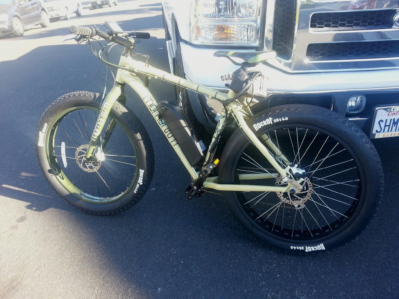 36v 52v Electric Fat Tire Bike Kit 900 To 1300 Peak