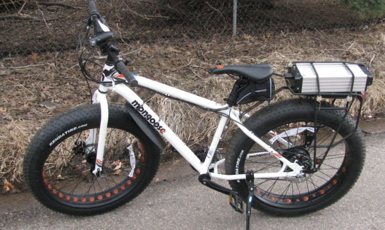electric fat tire Mongoose Bicycle