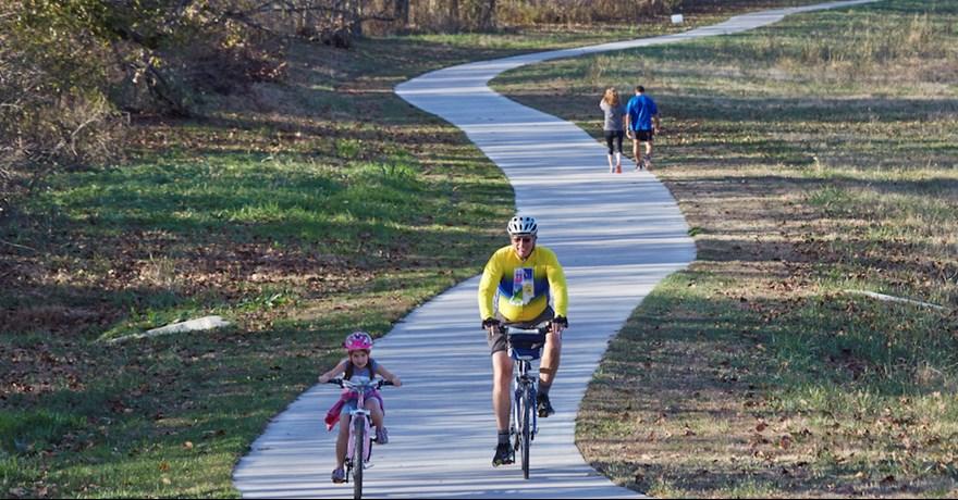 Biking Louisville Kentucky