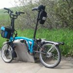 Electric Brompton Bicycle