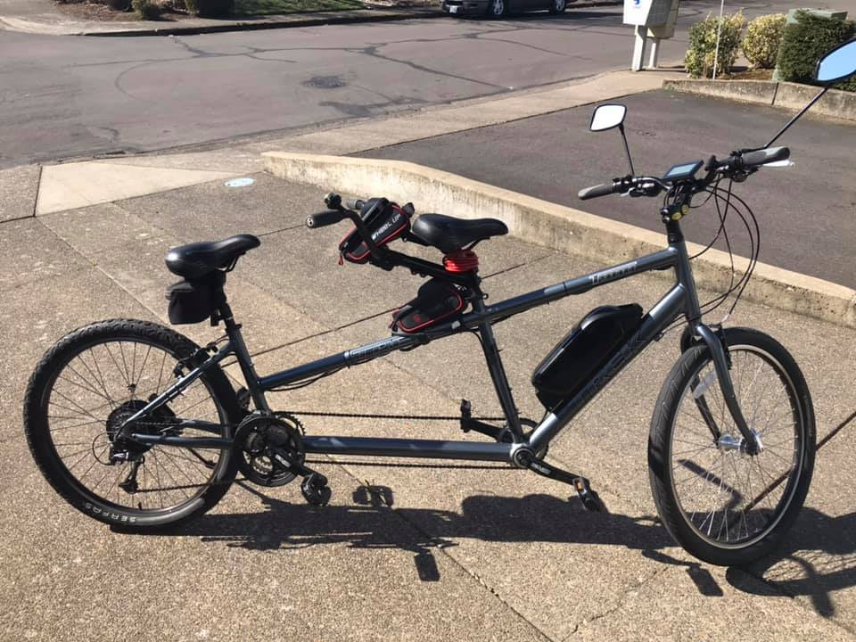 Electric Tandem Trek T900 Bicycle – McMinnville , Oregon