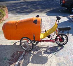 Electric Recumbent Greenspeed Trike - Fairfield, CA 11/2018