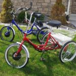 Electric Kent Westport and True Bicycles Folding trikes